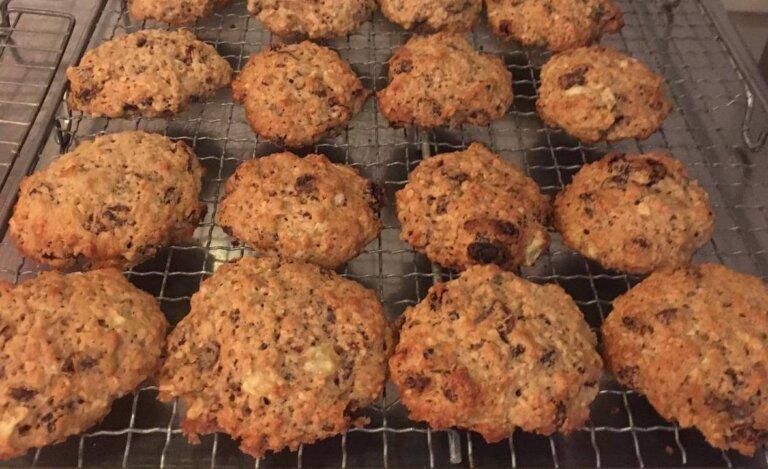 Reduced sugar cookies